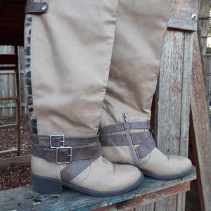 Knee High light brown xoxo boots